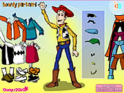 Click to Play Woody Dress Up