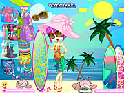 Click to Play Zelia Beach Dress Up