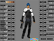 Click to Play Action Hero Creator
