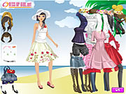 Click to Play Summer Holiday Dressup