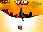Click to Play Urban Snowboarding