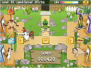Click to Play Looney Tunes - Looney Lunch