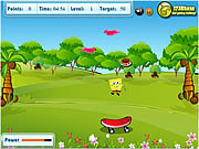 Click to Play Spongebob Squarepants - Food Catcher