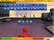 Click to Play Spiderman 2 - Web of Words