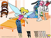 Click to Play Tinkerbell Dress up 7