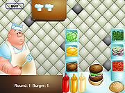 Click to Play The Great Burger Builder