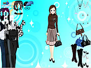 Click to Play Black and White Dressup