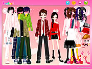 Click to Play Couple Shopping Dress Up