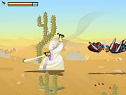 Click to Play Samurai Jack: Desert Quest