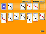 Click to Play Solitaire Oldschool
