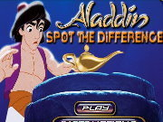Click to Play Aladdin Spot the Difference