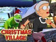 Click to Play Angry Gran Run Christmas Village