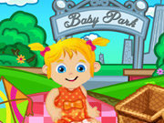 Click to Play Baby Ella on a Picnic