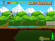 Click to Play Ben 10 Skateboard