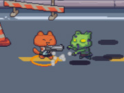 Click to Play Cat Gunner VS Zombies