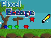 Click to Play Pixel Escape