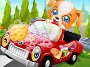 Click to Play Puppy Car Wash