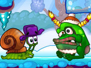 Click to Play Snail Bob 6: Winter Story