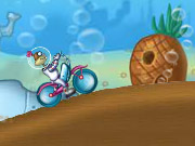 Click to Play Spongebob Cycle Race