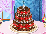 Click to Play Wedding Cake Deco